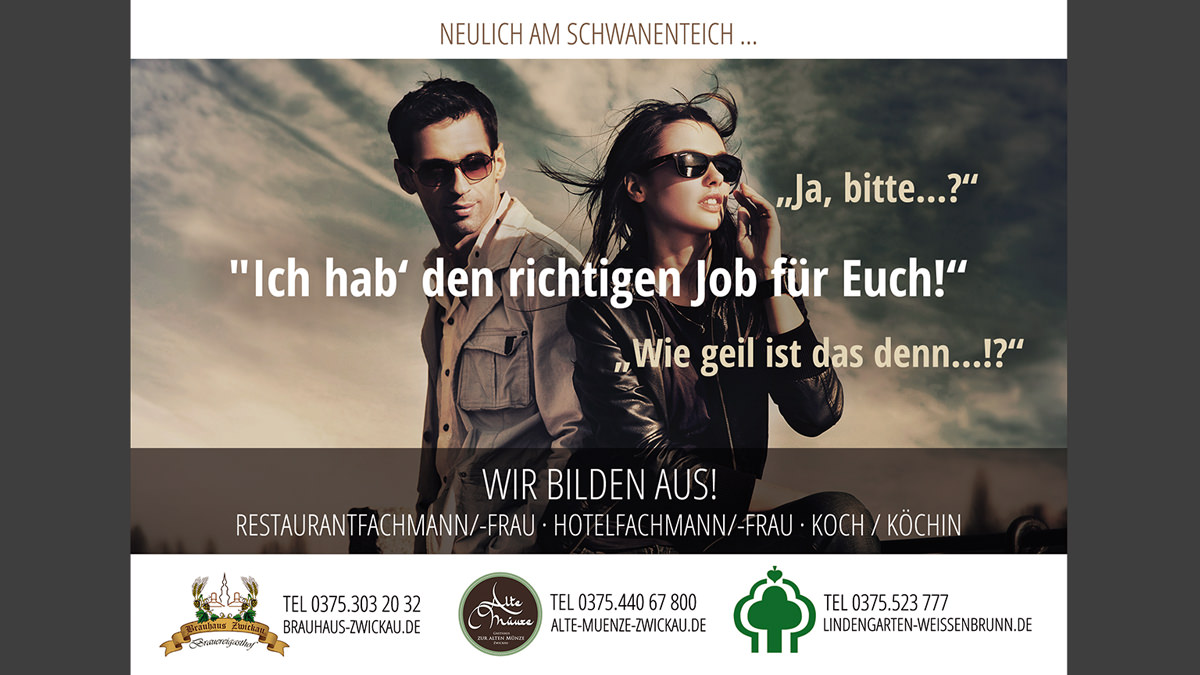 Graphic design Munich Job advertisement