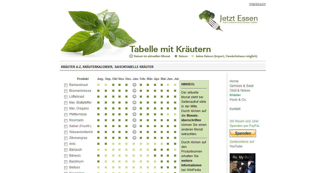 Webdesign Munich Own project