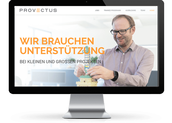 web design Munich for IT companies