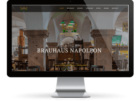 Webdesign Munich References Brauhaus Leipzig