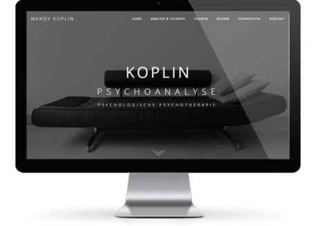 Webdesign Munich references Koplin Psychoanalyse