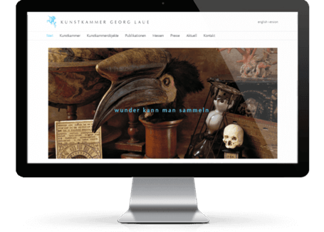 Webdesign Munich for art trades