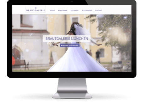 Webdesign Munich for retails shops
